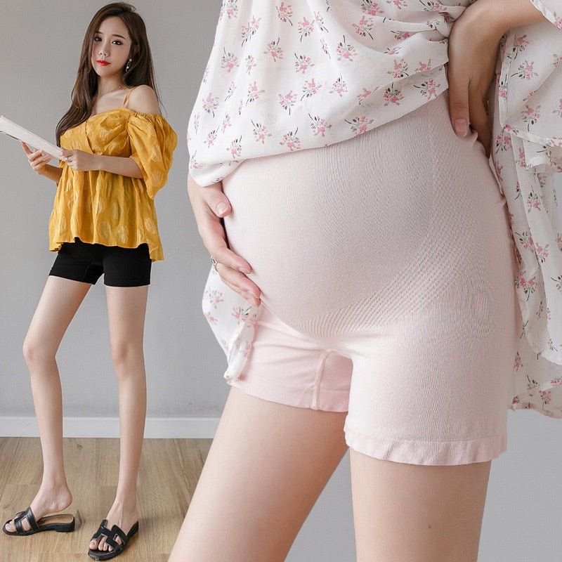 8920# Summer Thin Maternity Short Legging Adjustable Belly Safety Underpants for Pregnant Women Pregnancy Sleepwear Panties