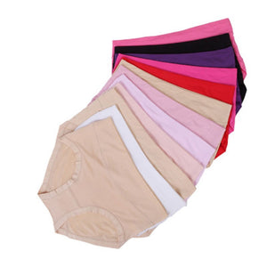 Super Stretchy Soft Plus Size Briefs - asheers4u