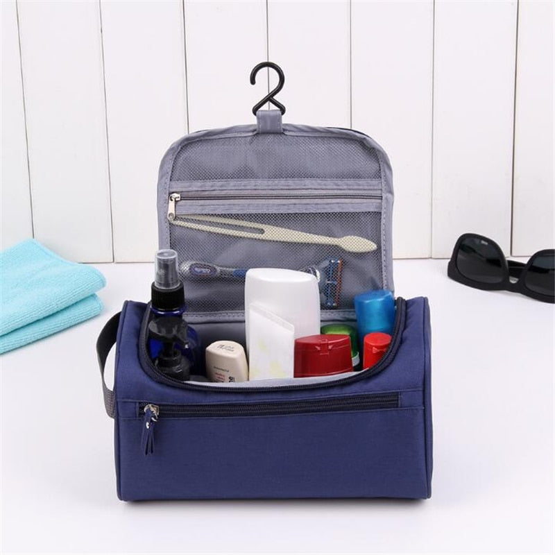 Large Waterproof Travel Cosmetic Organizer Bag - asheers4u
