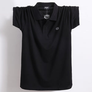 Breathable Soft Polo Men TShirt (5XL Available) - asheers4u