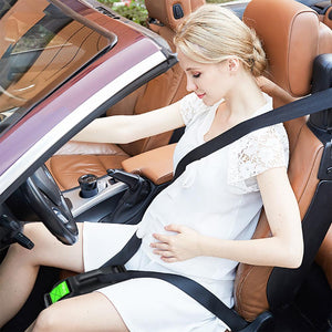 Car seat belt adjuster for pregnancy driving comfort and safety - asheers4u