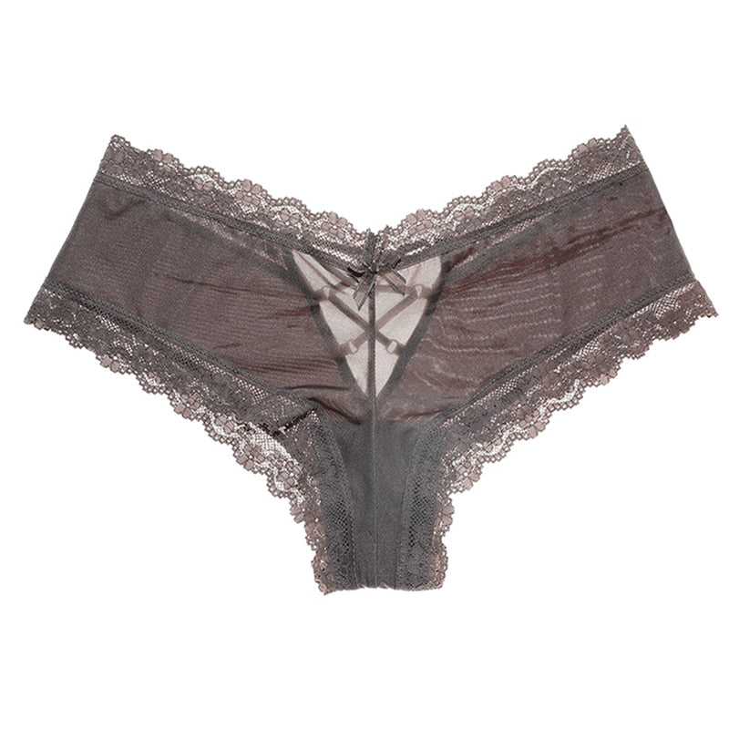 Designer Satin Seamless Sexy Lace Panties for Wome - asheers4u