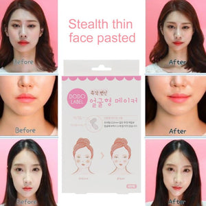 V-Shape Face Lift facial Stickers 40Pcs/Set - asheers4u