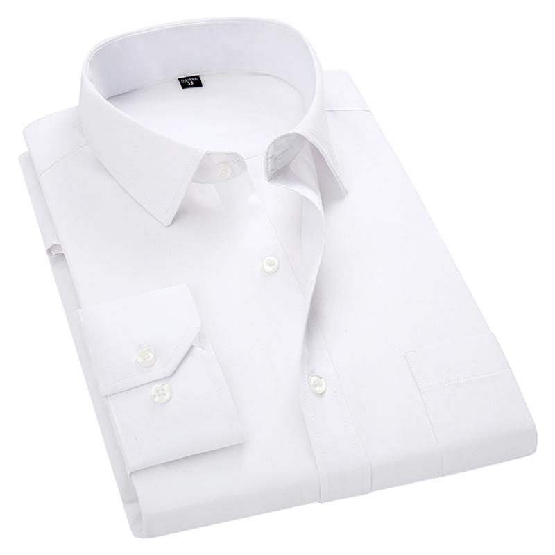 Long Sleeve Slim Fit Shirt (Plus Size 5XL 6XL 7XL 8XL Available) - asheers4u