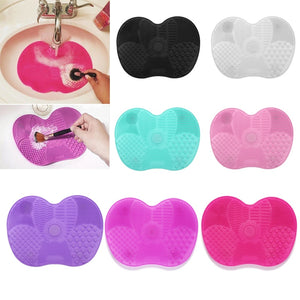 Silicone Makeup Brush Cleaning Pad - asheers4u