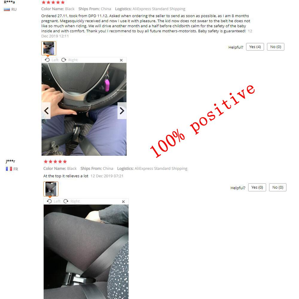 Pregnant Car Seat Belt Adjuster,Comfort and Safety for Maternity Moms Belly - asheers4u