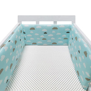 New Born Star Design Baby Bed Crib Wall Cushion - asheers4u