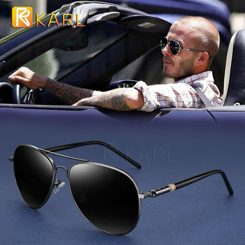 Polarized Branded Designer Aviator Sunglasses For Men/Women - asheers4u