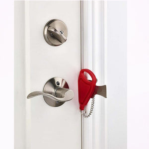 Door Safety Latch Anti Theft Lock - asheers4u
