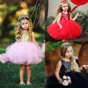 Princess Dress For Girls Fancy Party - asheers4u