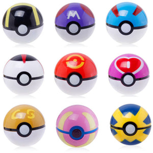 Creative 7cm Pikachu PokeBall Kids Toy Birthday Gift - asheers4u