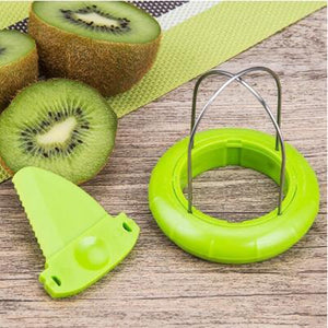 Kiwi Mini Fruit Cutter Peeler Slicer Kitchen Gadget - asheers4u