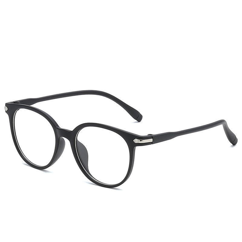 Ultralight Transparent Black Pink Blue Eyeglasses - asheers4u