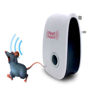 Enhanced Ultrasonic Mosquito Insect Rat Mouse Cockroach Pest Repellent EU/US Plug - asheers4u