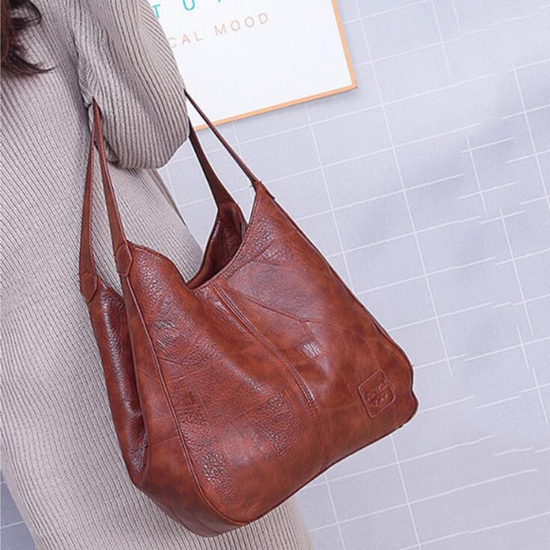 Yogodlns Vintage Women Hand Bag Designers Luxury Handbags Women Shoulder Bags Female Top-handle Bags Fashion Brand Handbags