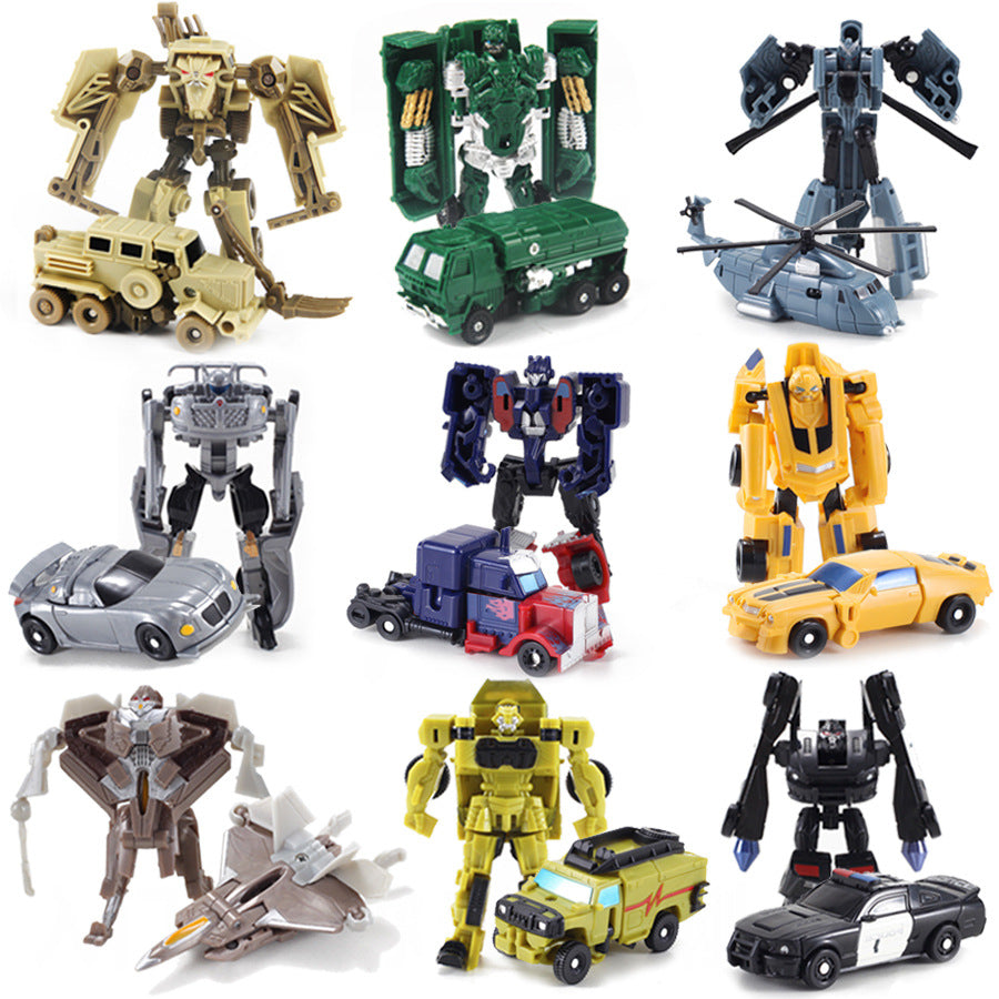 Transformers Pocket Size Robot Car Toy for Kids - asheers4u