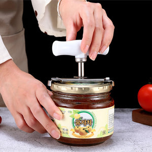 Adjustable Jar Opener Stainless Steel Lids off Jar Opener Bottle Opener Can Opener for 1-4 inches Kitchen Gadget - asheers4u