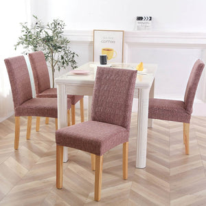 Geometric Dining Chair cushion Stretchable Dirt proof Washable Covers - asheers4u