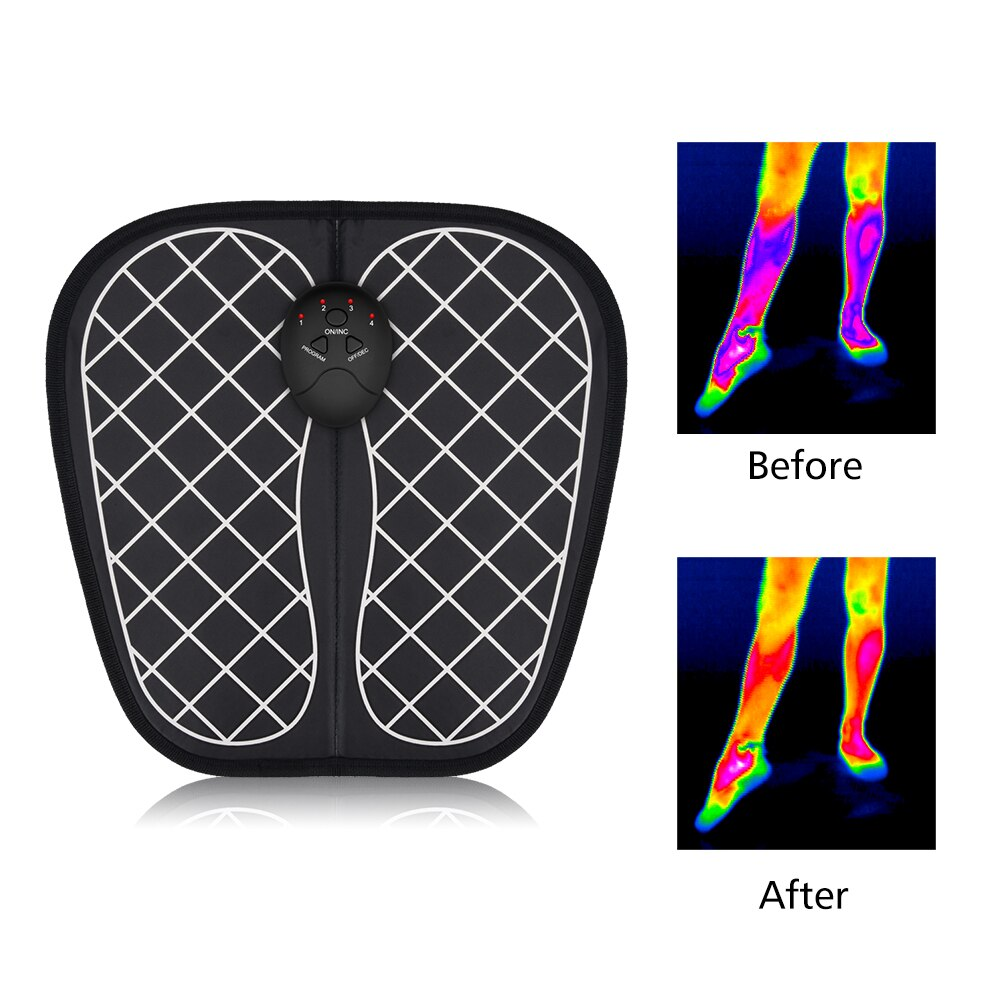 Electric EMS Foot Massage Mat - asheers4u