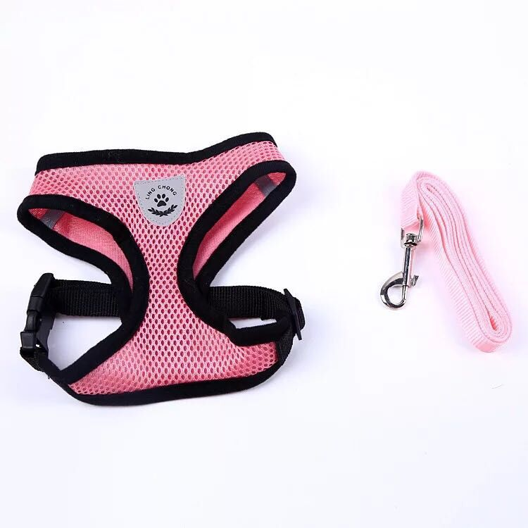 Cat Vest Harness and Leash Set to Outdoor Walking - asheers4u