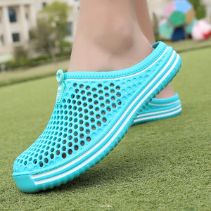 Women Summer Breathable Beach Slippers/ Flip Flops - asheers4u