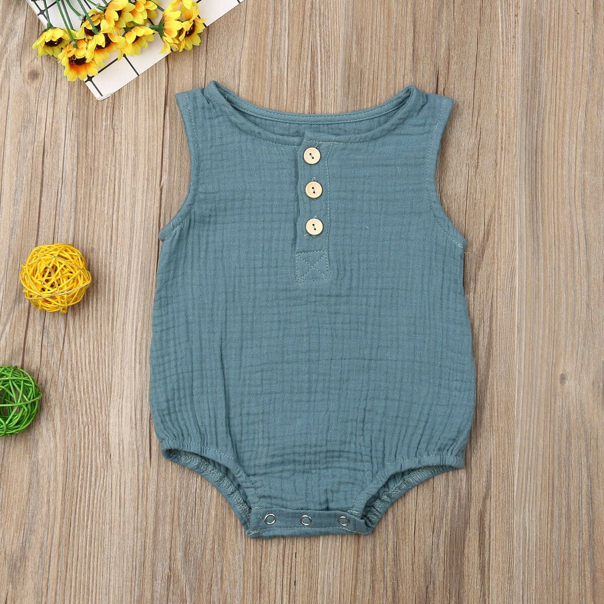 Infant 100% Cotton Bodysuit Outfit For 0-24M - asheers4u