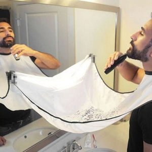 Waterproof Shaving & Trimming Apron for Men and Women - asheers4u