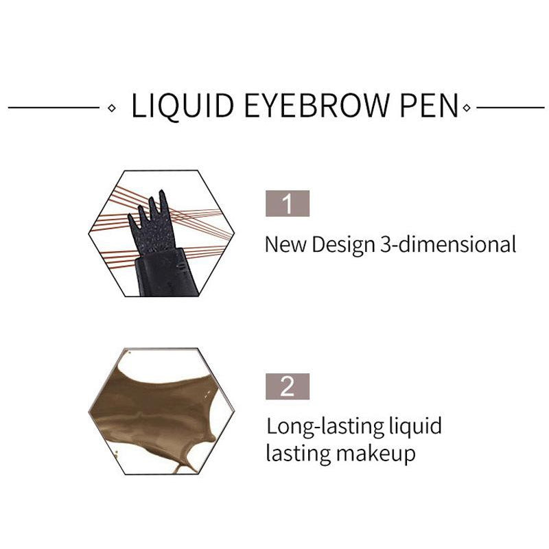 Waterproof Pen Eyebrow Sketch Pencil Long Lasting Kajal - asheers4u