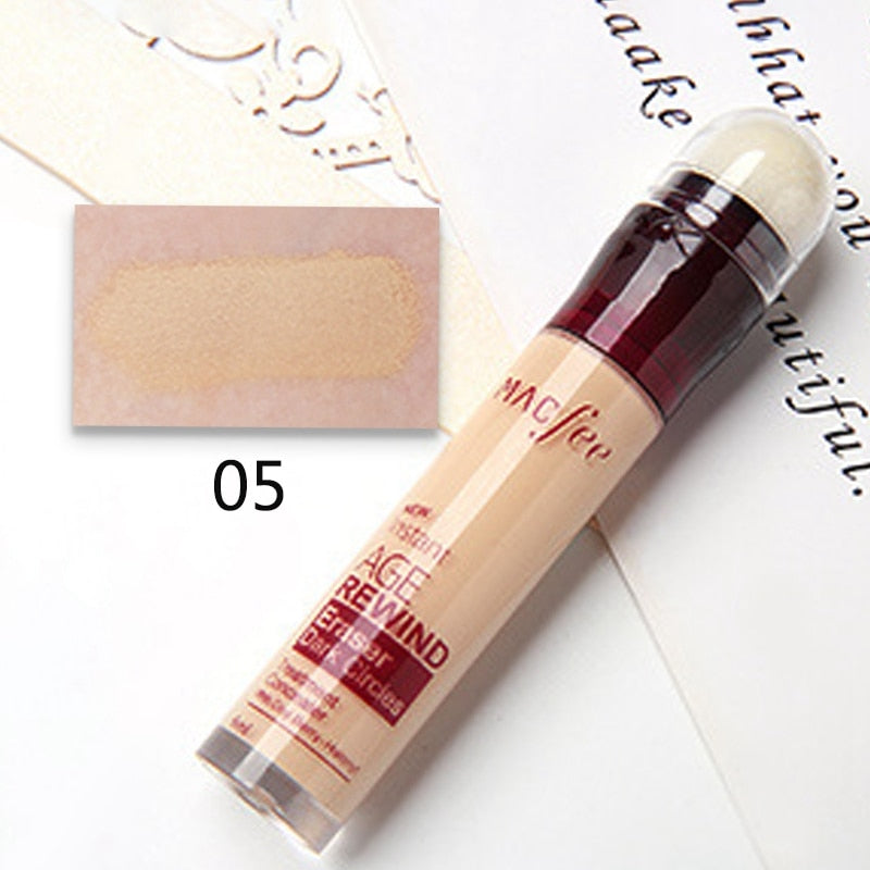 Under Eye Dark Circles Corrector Pencil Liquid Face Professional Concealer - asheers4u