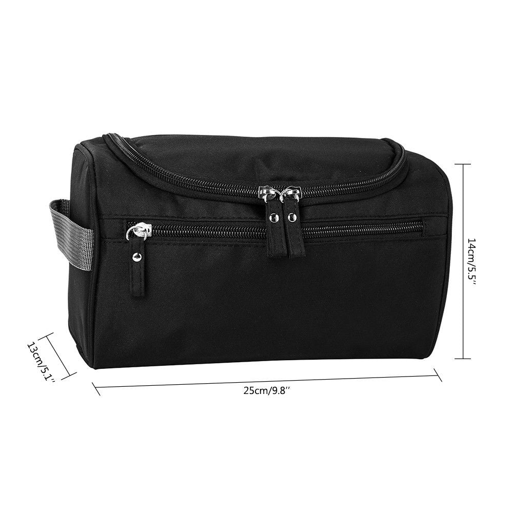 Waterproof Unisex Makeup Toiletry Organizer Zipper Travel bag - asheers4u