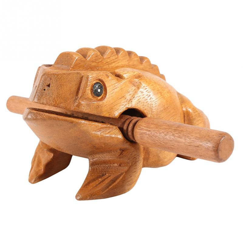 Traditional Lucky Frog Musical Instrument Home - asheers4u