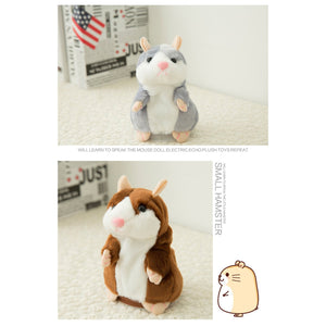Talking Hamster Plush Toy for Children - asheers4u
