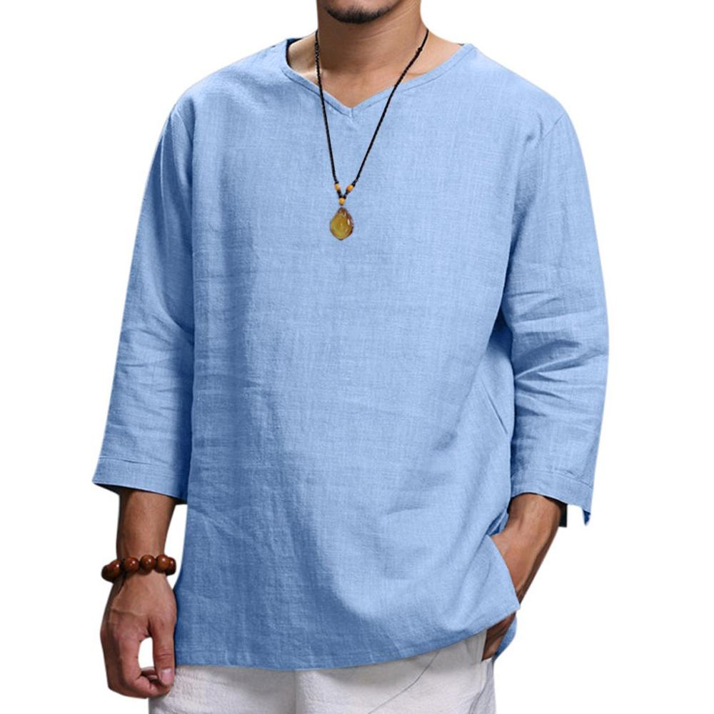 Men's Summer New Pure Cotton Comfortable Shirts - asheers4u