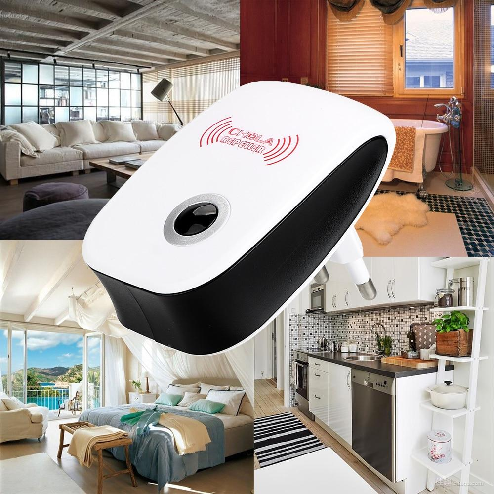 Electronic Cockroach Mosquito Insect Killer Ultrasonic Pest Repeller - asheers4u