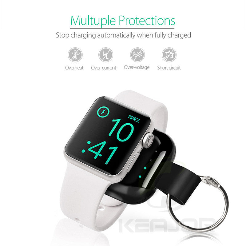 Magnetic Wireless Power Bank For iWatch Series 4 3 2 1 - asheers4u