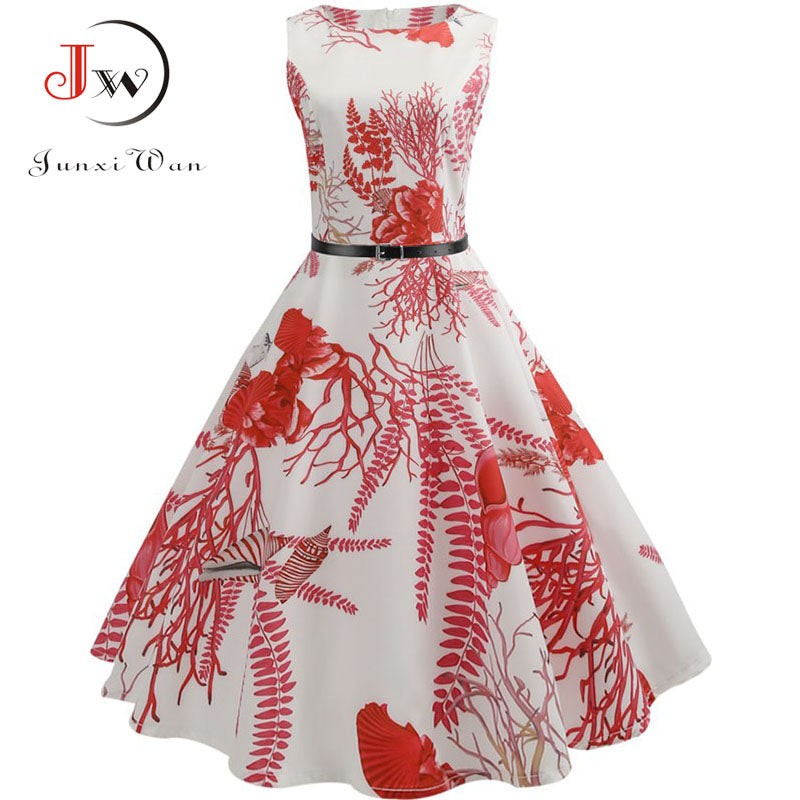 Floral Women Dress - asheers4u