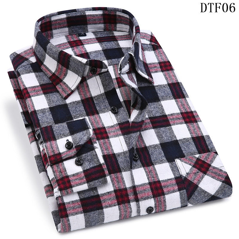 Soft Comfort Slim Fit Shirt for Men 100% Cotton - asheers4u