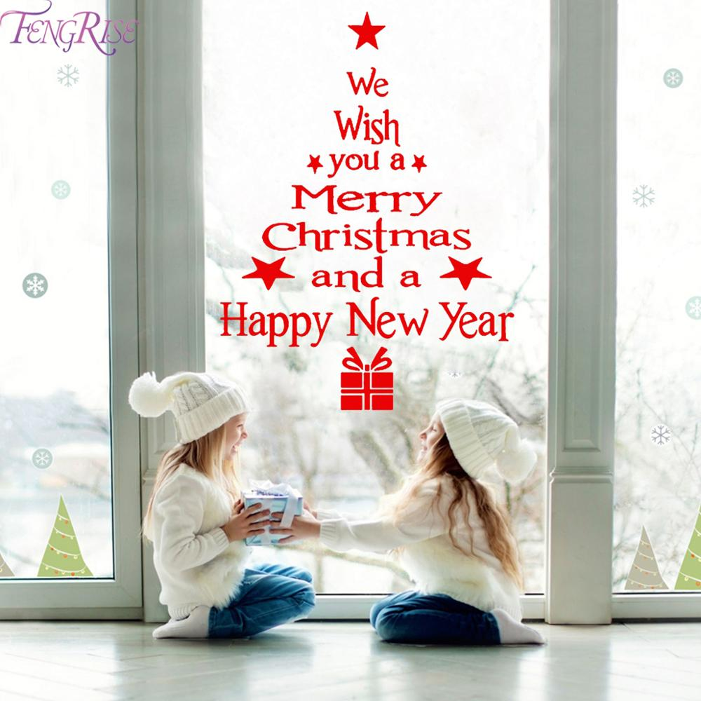 wall Window Christmas Stickers Decoration For Home 2019 - asheers4u