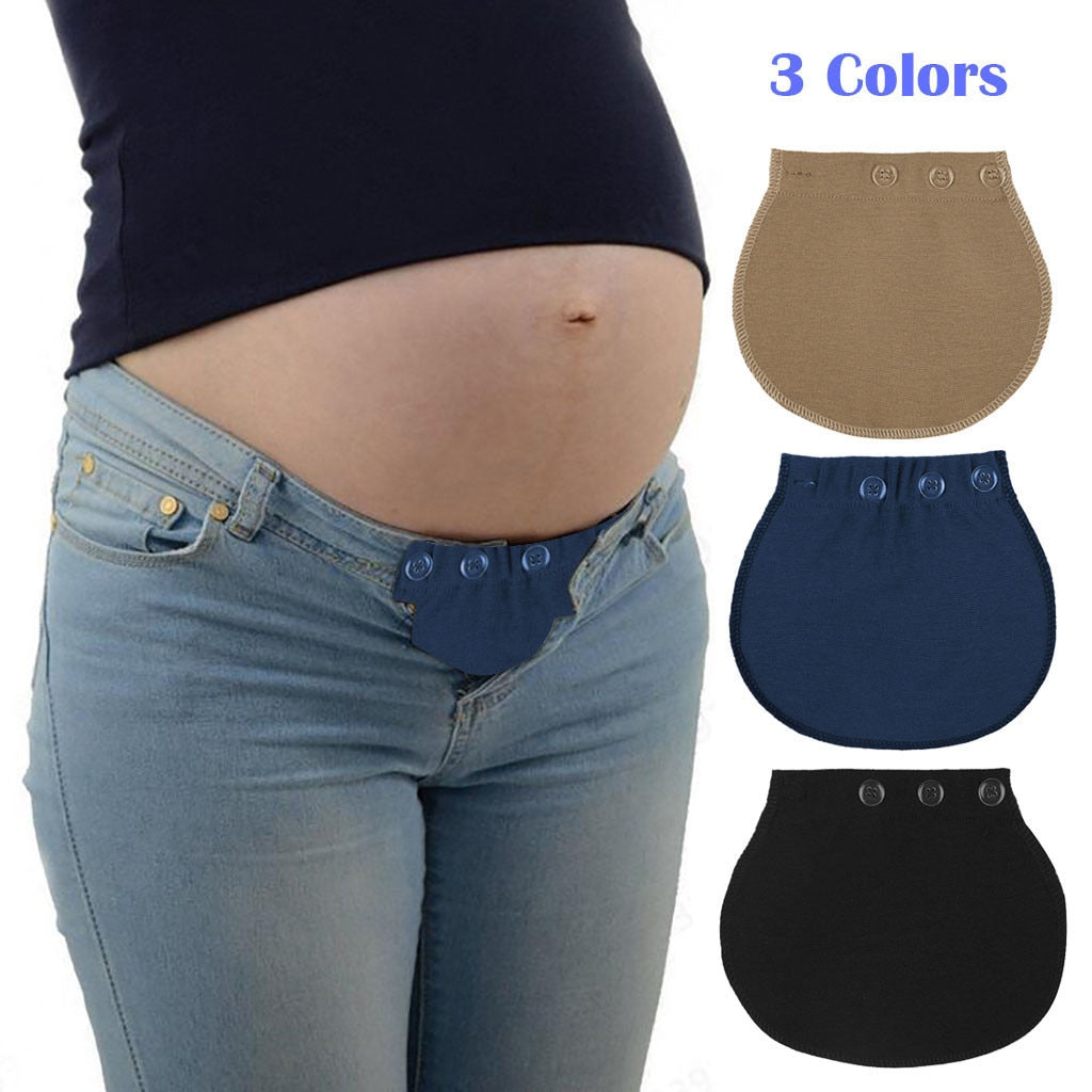 2020 Maternity pregnancy accessories Support  Waistband Belt Extender Adjustable Elastic Pants Waist maternity belt