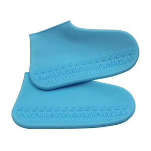 Waterproof Silicon Adult and Kids Shoe Cover Protectors for Rainy Days - asheers4u