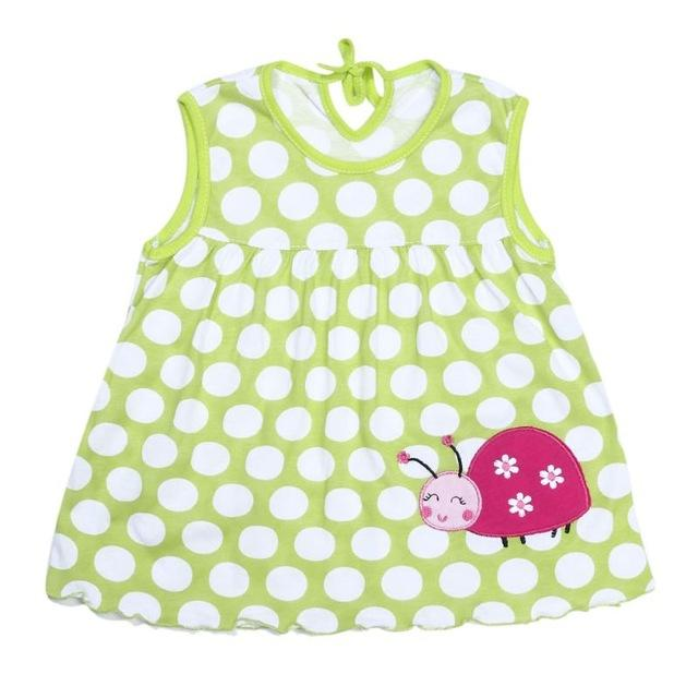 Infant Princess Cotton Children Soft Clothes Kids Clothing Dress - asheers4u