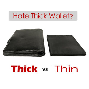 Minimalist Ultra Thin Wallet For Men Women Purse - asheers4u