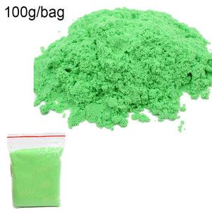 Magic Sand Toy Dynamic Clay Educational Colored Soft Slime Space Sand for Children - asheers4u