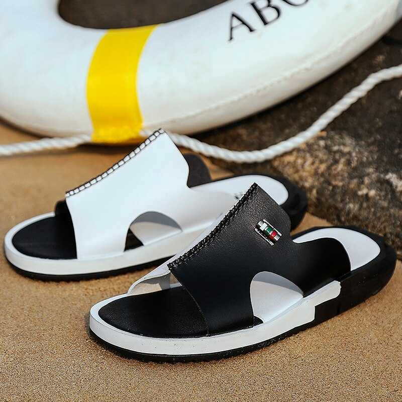 Hot Selling Outdoor Non-slip Flat Beach Flip Flops - asheers4u