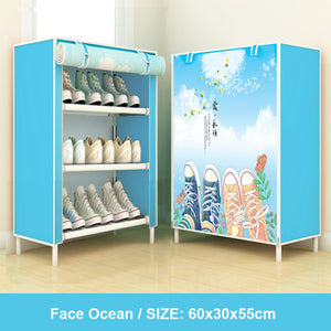Detachable Dust proof Shoe Cabinet - asheers4u