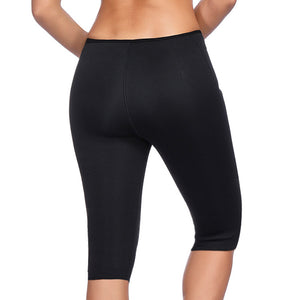 Neoprene Sweat Sauna Stretch Slim Pants for Women - asheers4u