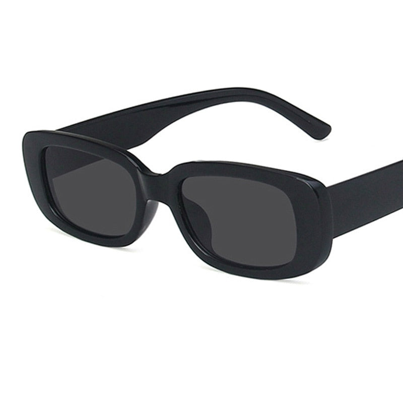 Luxury Rectangle Sun Glasses for Men and Women - asheers4u