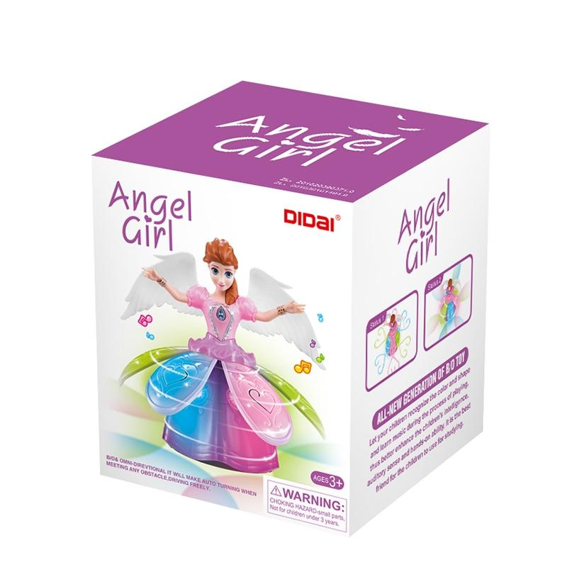 Electric Dancing Princess Elsa Anna Doll with Wings - asheers4u