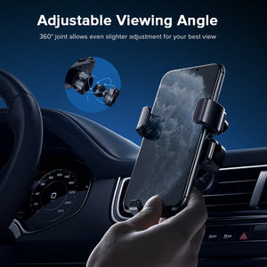 INIU Gravity Car Phone Holder Universal Air Vent Mount Mobile Support Smartphone GPS Stand in Car For iPhone 11 Pro 8 7 Samsung