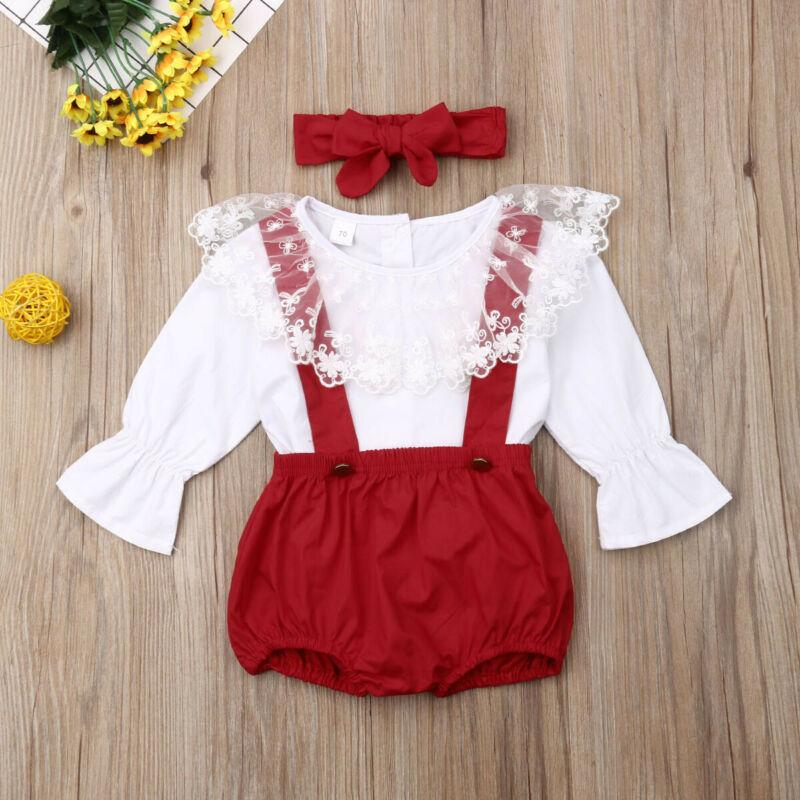 4 Pcs Baby Girl Ruffle Dress Set - asheers4u